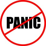 What ever you do - don't panic!