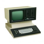old computer terminal