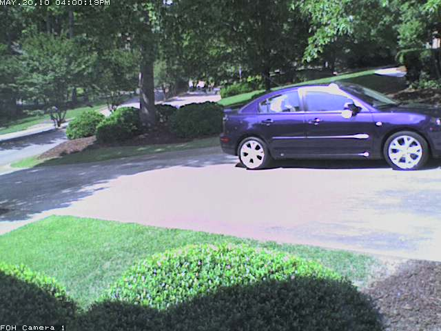 Front of House Security Camera