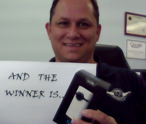 And the Winner of the Cisco Flip MinoHD camcorder is