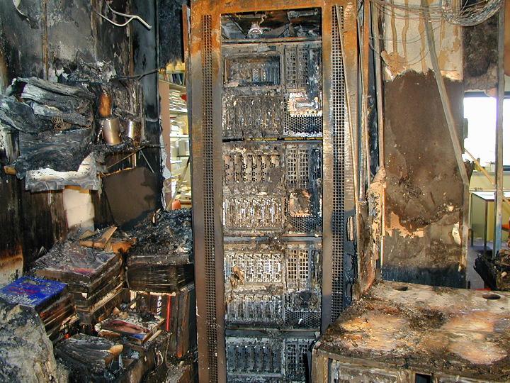 Server Room Fire