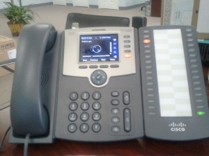 Cisco SPA 525G2 with Sidecar
