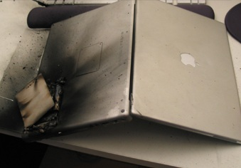 Mac Book Battery Meltdown