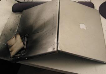 Mac Book Battery Meltdown