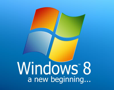 Windows 8 A New Beginning Logo