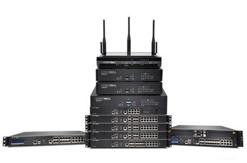 Network firewalls, switches, media converters, cabling